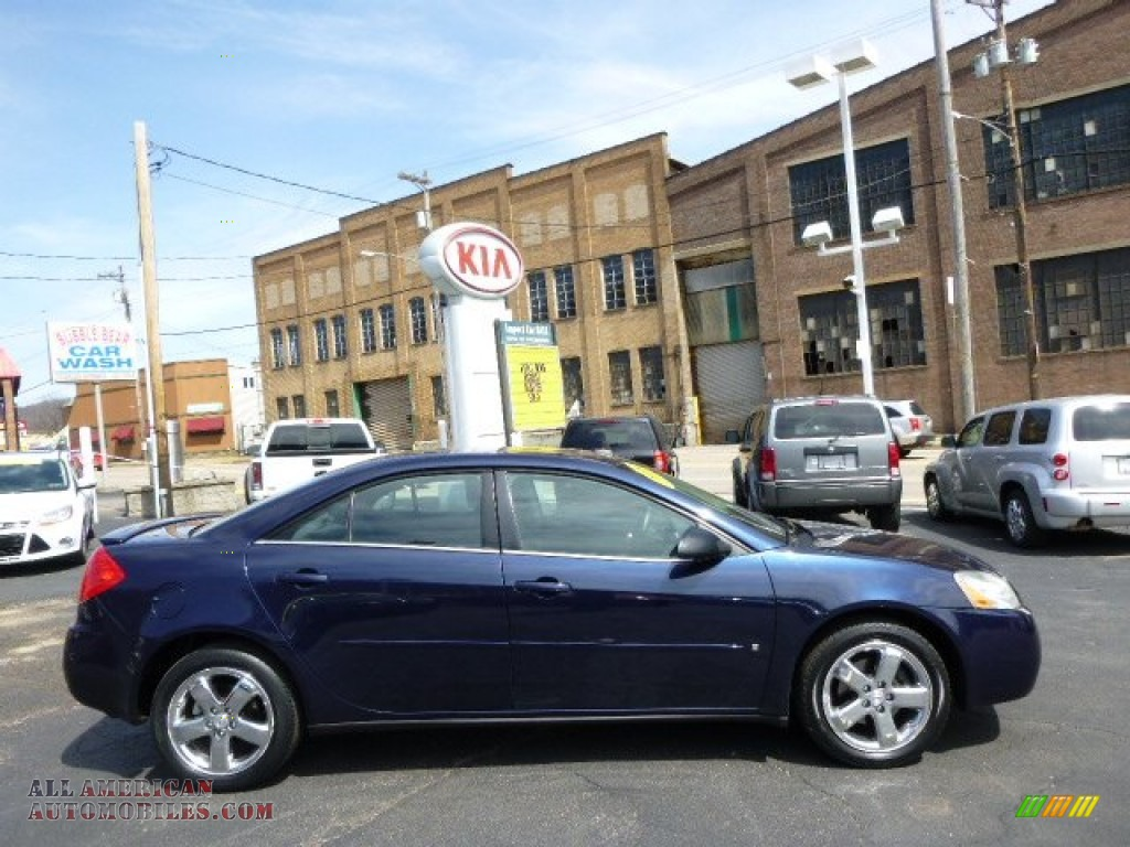 2008 Pontiac G6 Gt Sedan In Midnight Blue Metallic