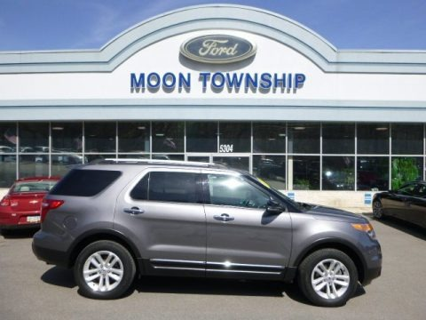 Sterling Gray Metallic 2012 Ford Explorer XLT 4WD