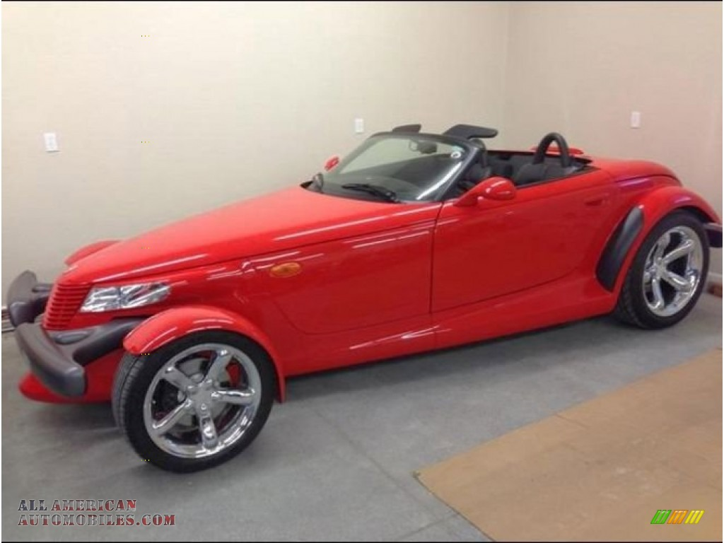 1999 Prowler Roadster - Red / Agate photo #1
