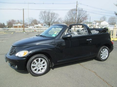 Black 2007 Chrysler PT Cruiser Convertible