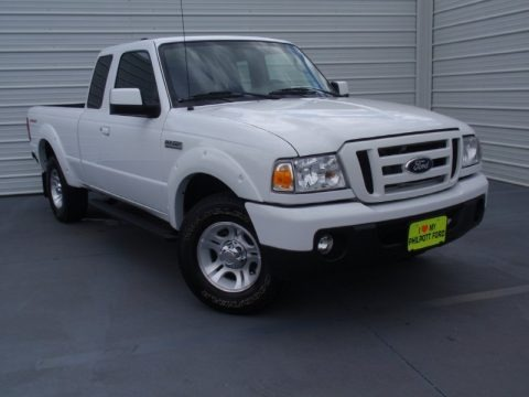 Oxford White 2011 Ford Ranger Sport SuperCab