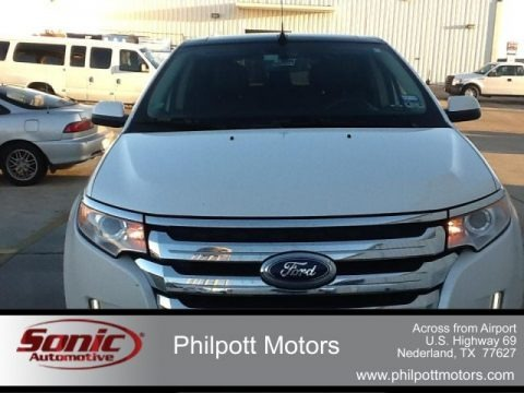 White Platinum Tri-Coat 2011 Ford Edge Limited