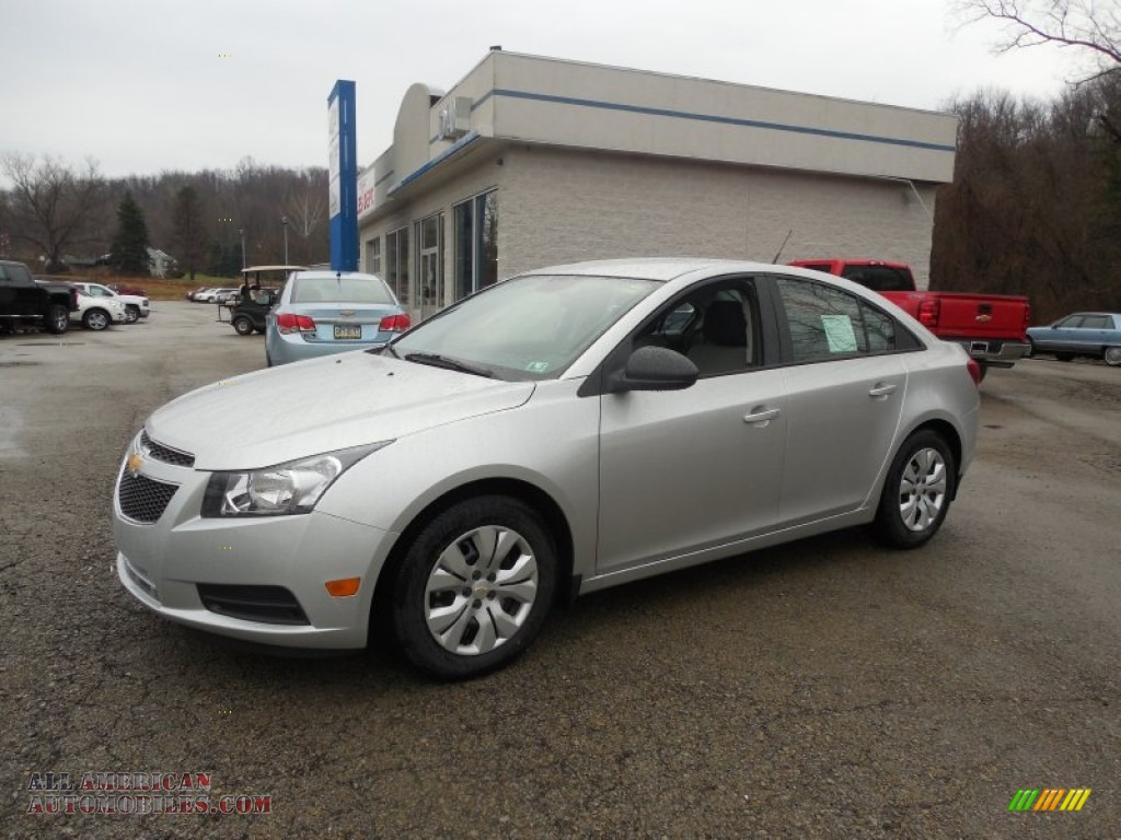 2014 chevrolet cruze ls in silver ice metallic 346187 all american automobiles buy. Black Bedroom Furniture Sets. Home Design Ideas