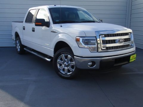Oxford White 2014 Ford F150 XLT SuperCrew