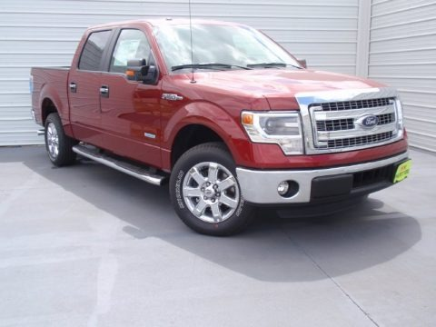 Ruby Red 2014 Ford F150 XLT SuperCrew