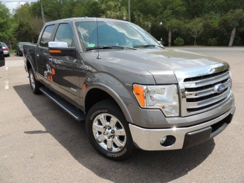 Sterling Gray Metallic 2013 Ford F150 Lariat SuperCrew