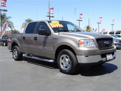 Arizona Beige Metallic 2005 Ford F150 XLT SuperCrew