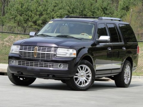 Dark Amethyst Metallic 2007 Lincoln Navigator Ultimate