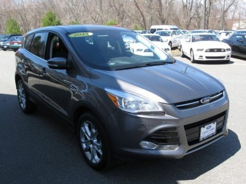Sterling Gray Metallic 2013 Ford Escape SEL 2.0L EcoBoost 4WD