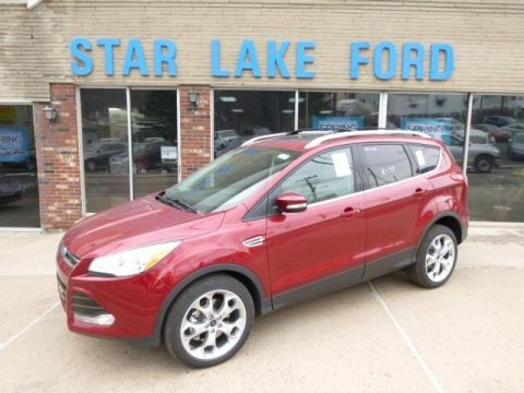Ruby Red 2014 Ford Escape Titanium 2.0L EcoBoost 4WD