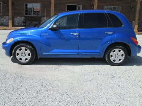 Electric Blue Pearlcoat 2004 Chrysler PT Cruiser