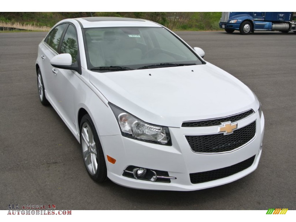2014 chevrolet cruze ltz in summit white 321496 all american automobiles buy american cars. Black Bedroom Furniture Sets. Home Design Ideas
