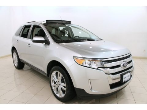 Ingot Silver Metallic 2012 Ford Edge Limited