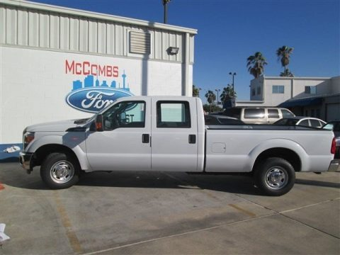 Oxford White 2014 Ford F250 Super Duty XL Crew Cab
