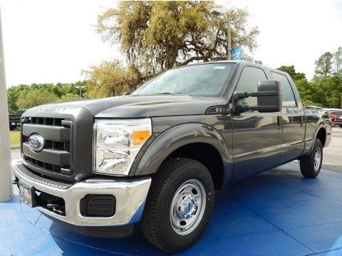 Magnetic 2015 Ford F250 Super Duty XL Crew Cab