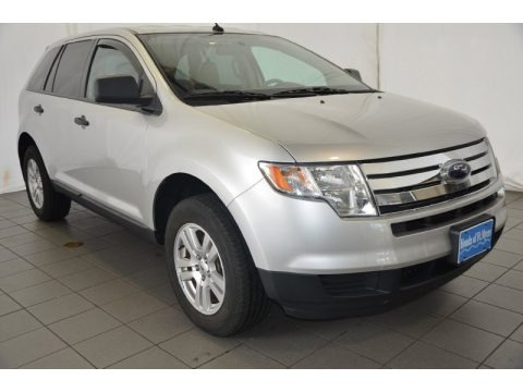 Ingot Silver Metallic 2010 Ford Edge SE