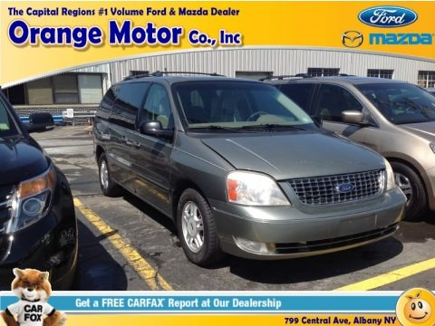 Spruce Green Metallic 2004 Ford Freestar SEL
