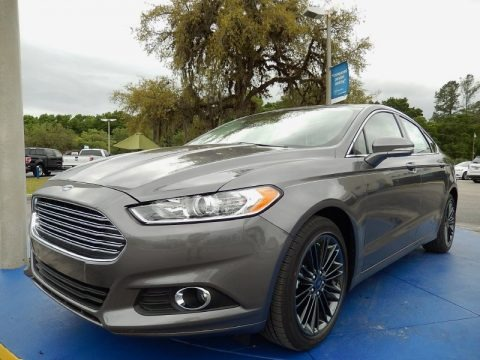 Sterling Gray 2014 Ford Fusion SE EcoBoost
