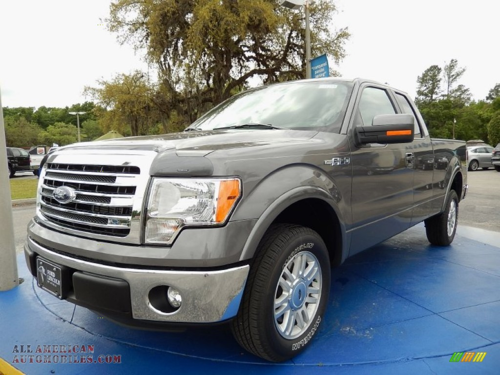 2014 ford f150 lariat supercab in sterling grey d97870 all american automobiles buy. Black Bedroom Furniture Sets. Home Design Ideas