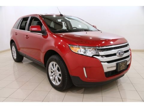 Red Candy Metallic 2011 Ford Edge Limited AWD
