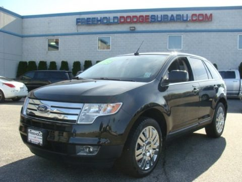 Tuxedo Black Metallic 2010 Ford Edge Limited