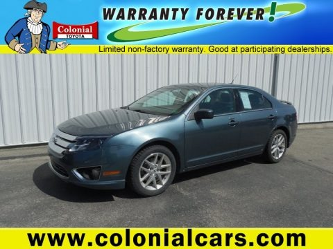 Steel Blue Metallic 2011 Ford Fusion SEL
