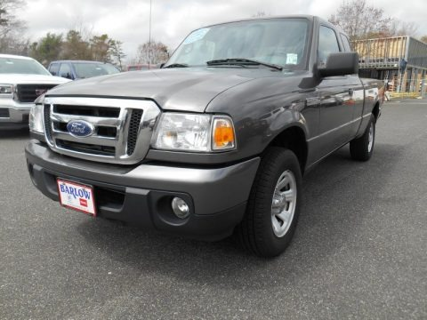 Dark Shadow Grey Metallic 2010 Ford Ranger XLT SuperCab