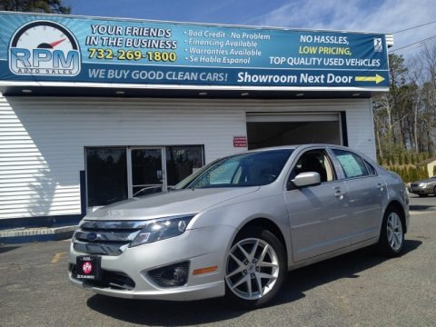 Brilliant Silver Metallic 2010 Ford Fusion SEL
