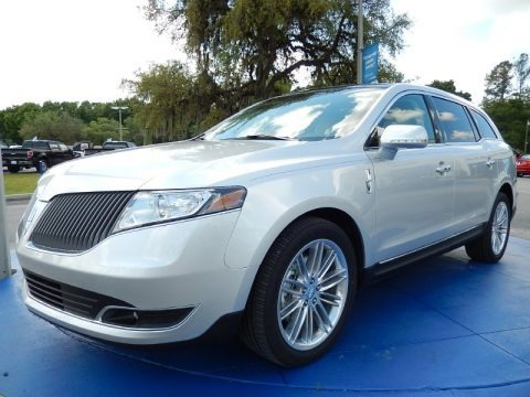 Ingot Silver 2014 Lincoln MKT EcoBoost AWD