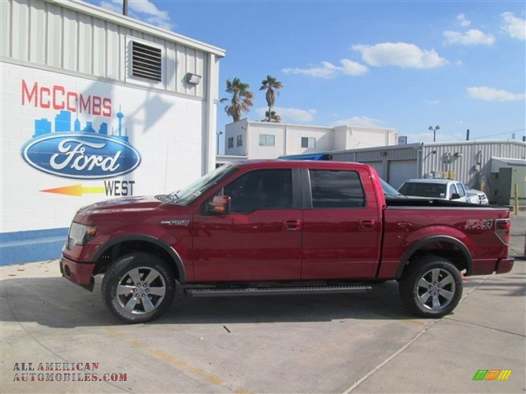 2014 ford f150 fx4 supercrew 4x4 in ruby red e06093 all american automobiles buy american. Black Bedroom Furniture Sets. Home Design Ideas