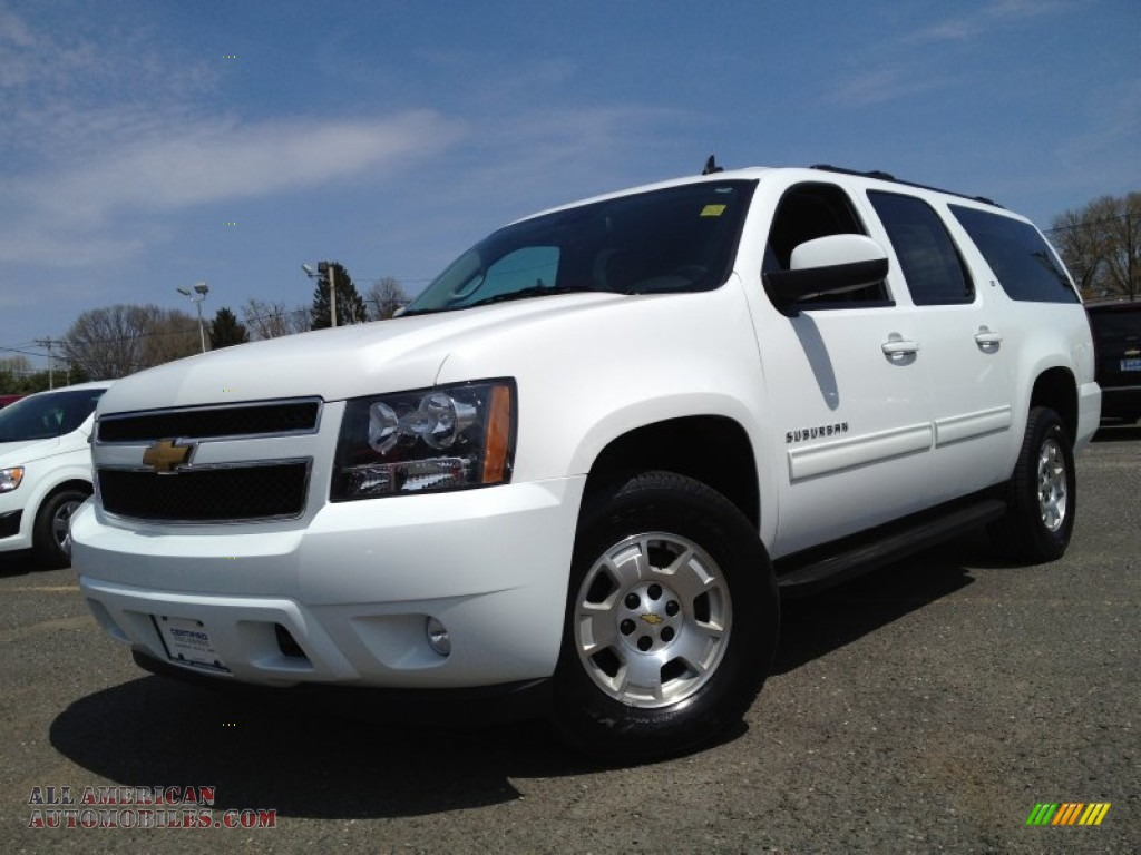2014 chevrolet suburban lt 4x4 in summit white 120282 all american automobiles buy. Black Bedroom Furniture Sets. Home Design Ideas