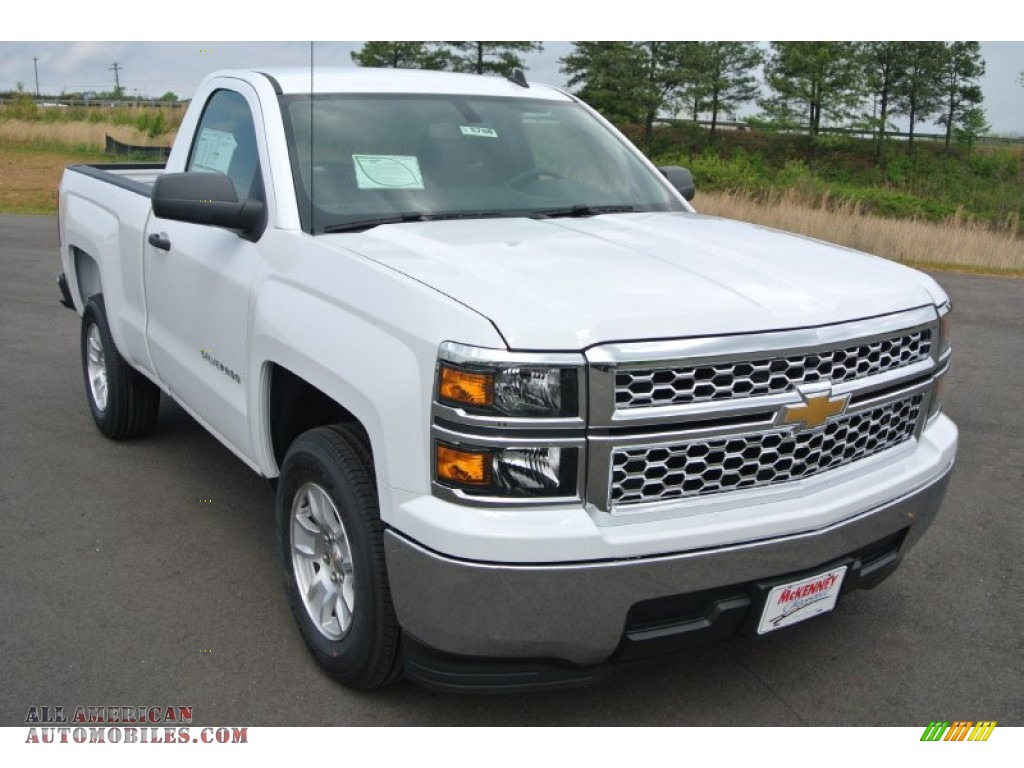 2014 chevrolet silverado 1500 lt regular cab in summit white 307270 all american automobiles. Black Bedroom Furniture Sets. Home Design Ideas