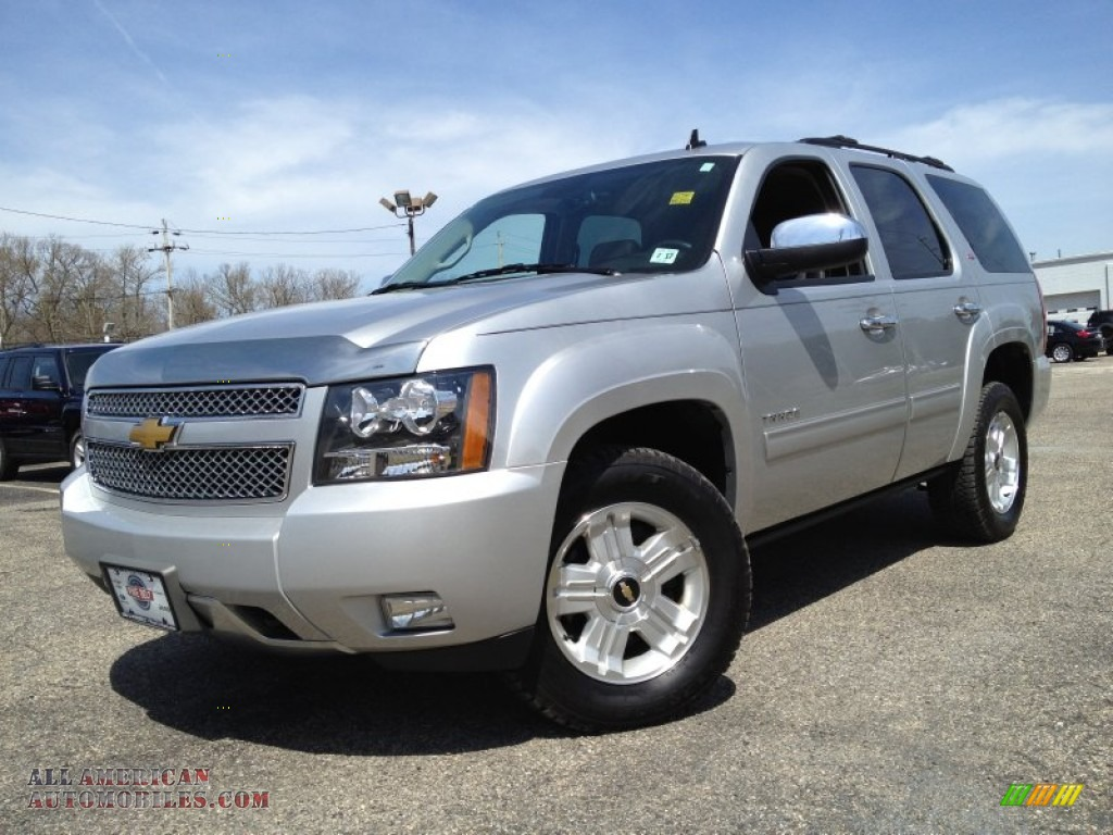 2012 chevrolet tahoe z71 4x4 in silver ice metallic 317304 all american automobiles buy. Black Bedroom Furniture Sets. Home Design Ideas