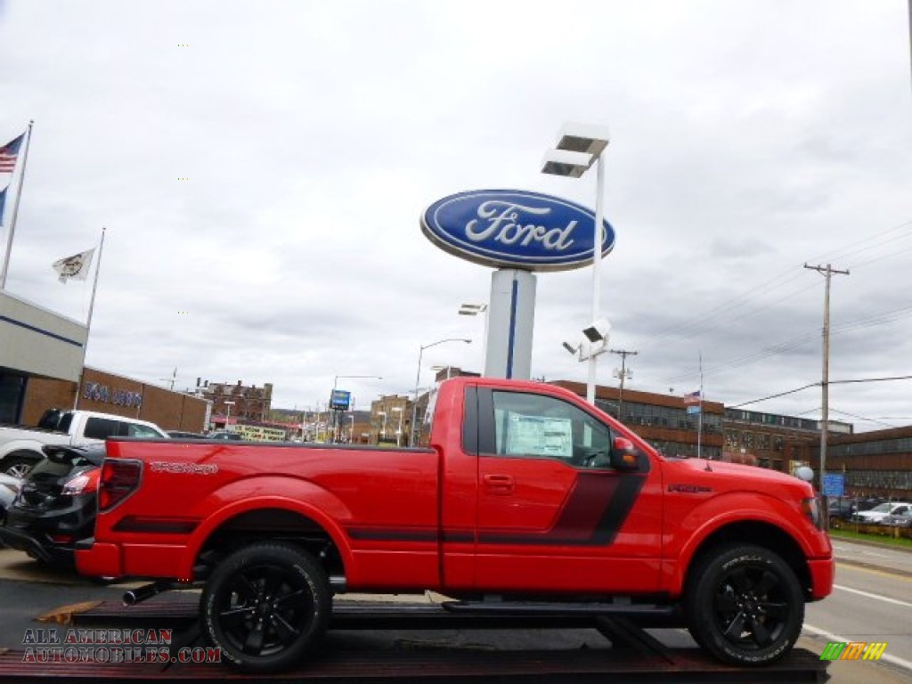 2014 ford f150 fx4 tremor regular cab 4x4 in race red. Black Bedroom Furniture Sets. Home Design Ideas