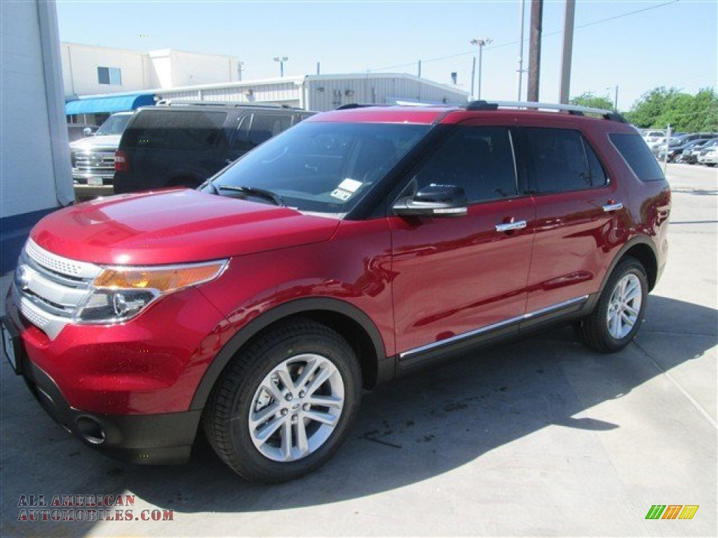 2014 ford explorer xlt in ruby red c22468 all american automobiles buy american cars for. Black Bedroom Furniture Sets. Home Design Ideas