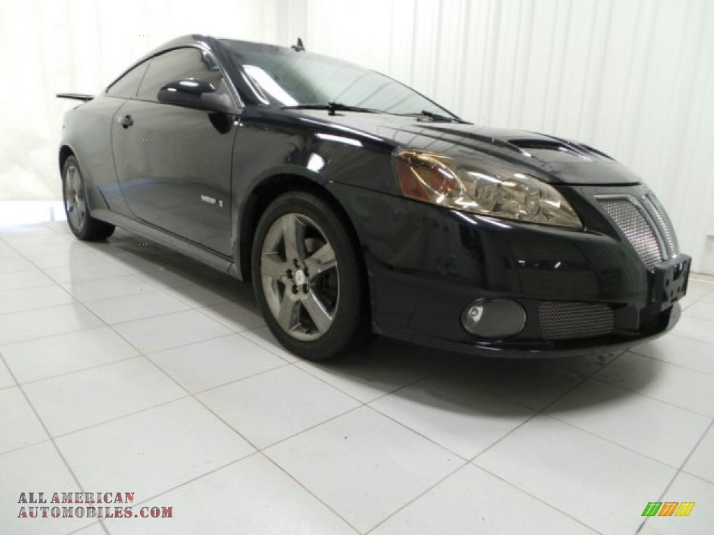 2008 Pontiac G6 Gxp Coupe In Black 180620 All American