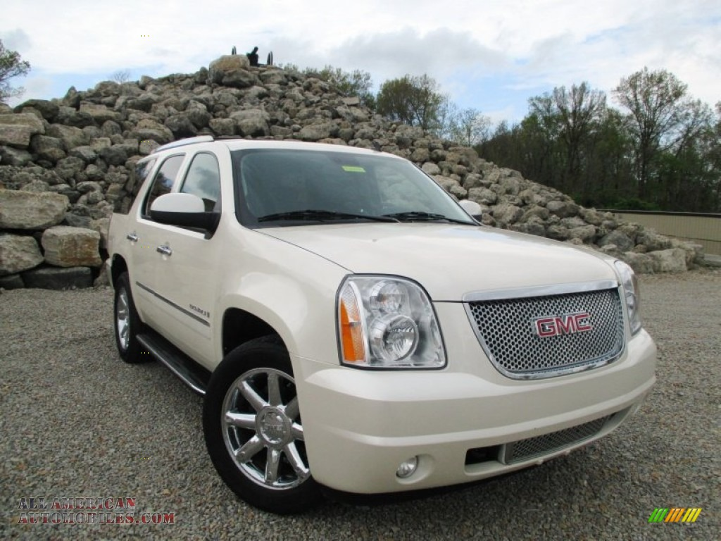 2009 Gmc Yukon Denali Awd In White Diamond Tricoat