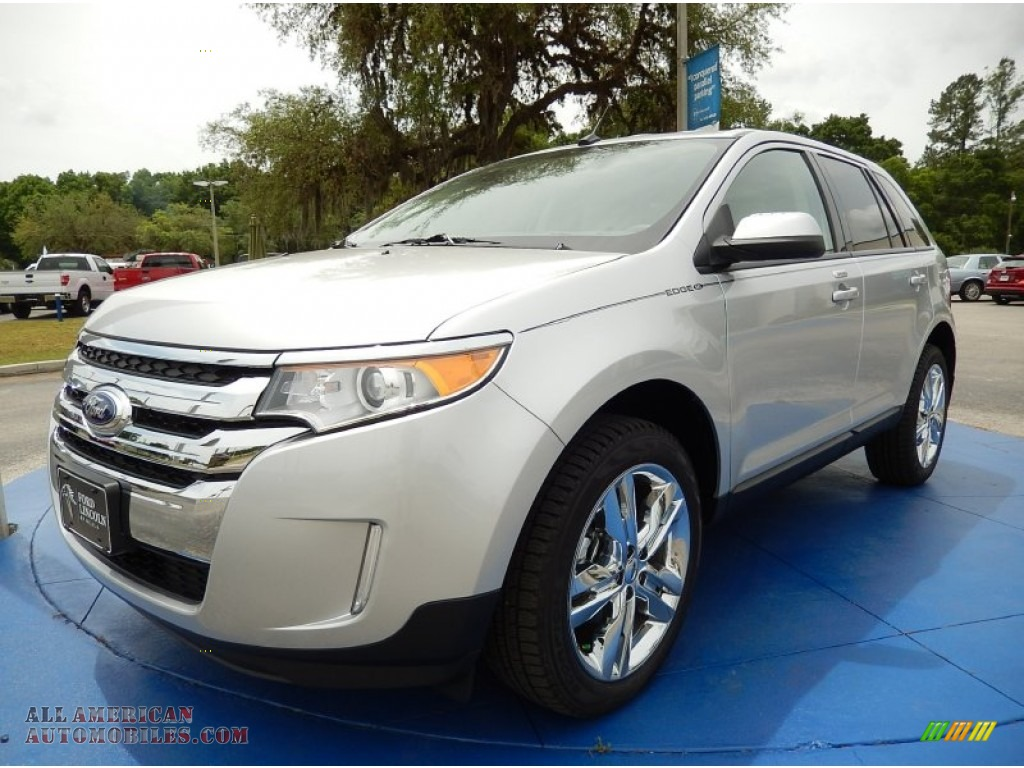 2014 ford edge sel in ingot silver a02785 all american automobiles buy american cars for. Black Bedroom Furniture Sets. Home Design Ideas