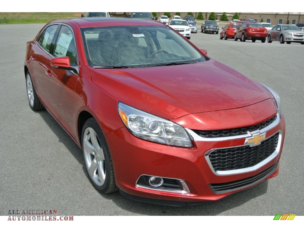 2014 chevrolet malibu ltz in crystal red tintcoat 275657 all american automobiles buy. Black Bedroom Furniture Sets. Home Design Ideas