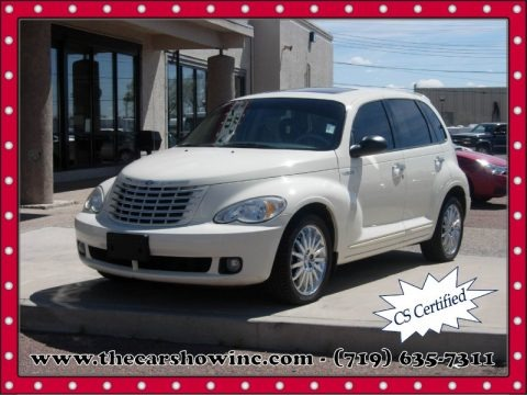 Cool Vanilla White 2006 Chrysler PT Cruiser GT