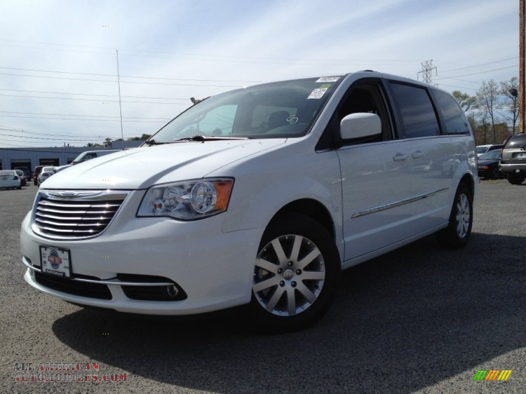 2013 chrysler town country touring in stone white for Stone s town country motors