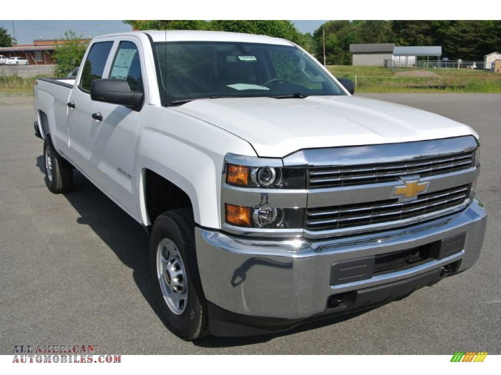2015 chevrolet silverado 2500hd wt crew cab 4x4 in summit white 130176 all american. Black Bedroom Furniture Sets. Home Design Ideas