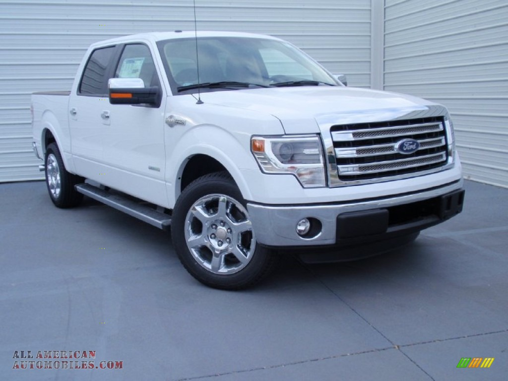 2014 ford f150 king ranch supercrew in oxford white. Black Bedroom Furniture Sets. Home Design Ideas