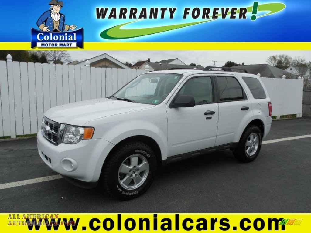 2011 ford escape xlt 4wd in white suede b29335 all for Colonial motors indiana pa