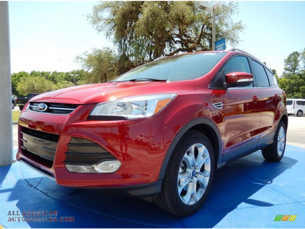 2014 ford escape titanium 2 0l ecoboost in ruby red d35958 all american automobiles buy. Black Bedroom Furniture Sets. Home Design Ideas