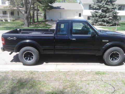 Black 2009 Ford Ranger XLT SuperCab 4x4