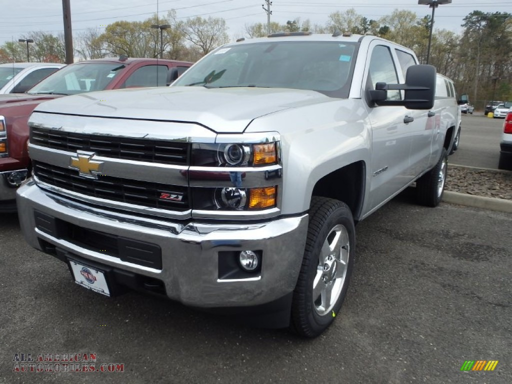 2015 chevrolet silverado 2500hd lt crew cab 4x4 in silver ice metallic 127541 all american. Black Bedroom Furniture Sets. Home Design Ideas
