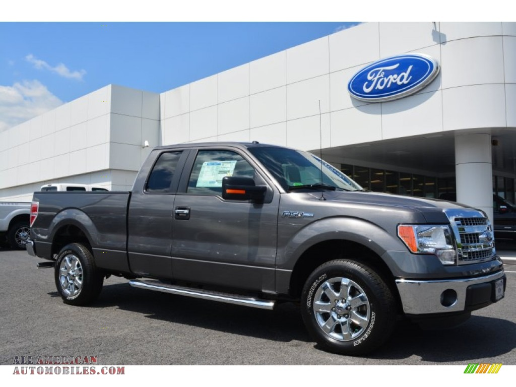 2014 ford f150 xlt supercab in sterling grey b81247 all american automobiles buy american. Black Bedroom Furniture Sets. Home Design Ideas