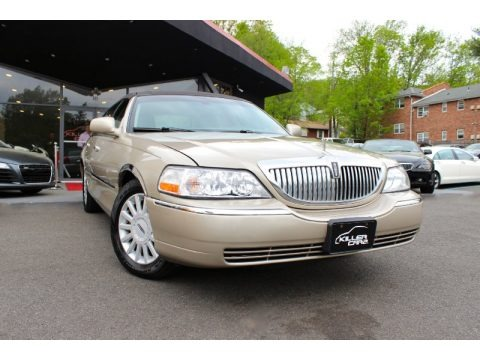 Light French Silk Clearcoat 2005 Lincoln Town Car Signature