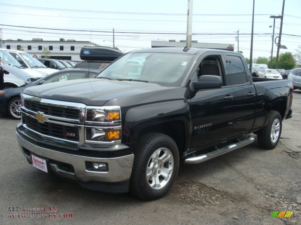 2014 chevrolet silverado 1500 lt double cab 4x4 in black 138488 all american automobiles. Black Bedroom Furniture Sets. Home Design Ideas
